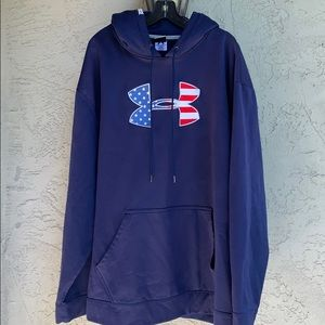 Under Armour hoodie Stars and Stripes